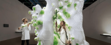 CREATE Group announces the completion of the world´s first 3D Printed bio-reactor featuring at the Centre Pompidou in Paris