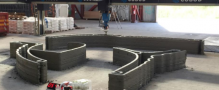 Cobod re-prints Europe's first 3D printed building, The BOD, in just 3 days