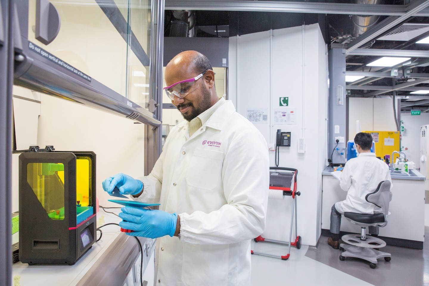 Evonik launches material campaign for 3D printing (©Evonik, research hub in Singapore).